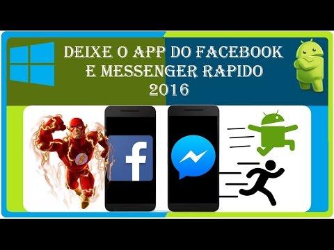 🔵Melhor Metodo! Como deixar o app do Facebook atualizado & Messenger mais rapido e sem travar 2016