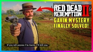 The Gavin Mystery Looks To Finally Be SOLVED Thanks To NEW Discoveries In Red Dead Redemption 2!
