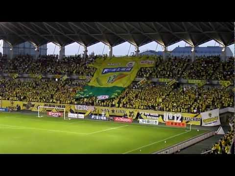 ?????'12 Amazing Grace -Big Shirts- JEF United Chiba fans sing 8,Jul,2012