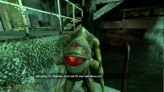Half-Life 2: An Interview With a Vortigaunt (Easter Egg)