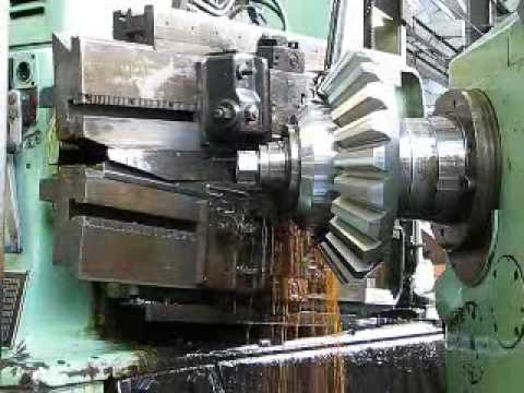 cutting bevel gears on a milling machine
