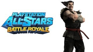 PlayStation All Stars Battle Royale walkthrough - part 1 Heihachi Mishima Story Tekken series