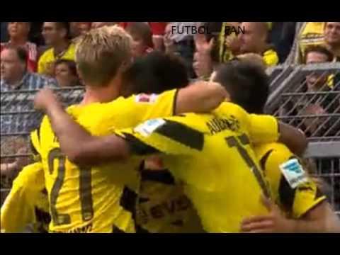 Gol Mkhitaryan - Borussia Dort. 1 - 0 Bayern Mun. - Relatos al estilo Futbol Fan