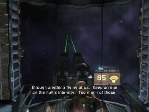Paul's Gaming - Dead Space part29 - Asteroid Blasting [BLIND]