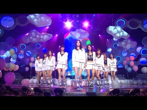 【TVPP】SNSD- Into The New World, 소녀시대 - 다시 만난 세계 @ Debut Stage, Show Music Core Live