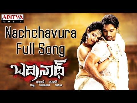 Nachchavura Full Song || Badrenath Telugu Movie || Allu ArjunTamanna...
