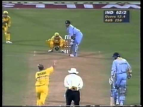 Sachin Tendulkar 90 vs Australia 1996 WORLD CUP