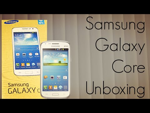 Samsung Galaxy Core Unboxing - Indian Retail Unit