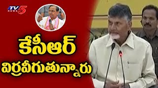 CM Chandrababu Serious Comments on KCR