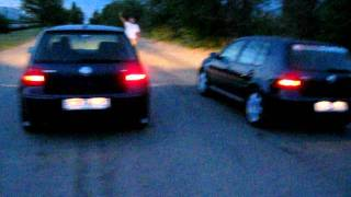 VW Golf IV 1.6 vs VW Golf IV 1.9 TDI