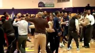 Fight Breaks Out At Lemoyne Owen vs. Lane College Basketball Game!