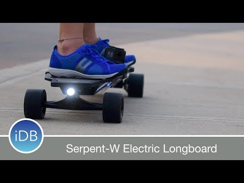 Serpent-W Electric Longboard is Affordable, Powerful, & Fun