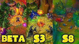 Beta vs. Season 3 vs. Season 8 - League of Legends LoL