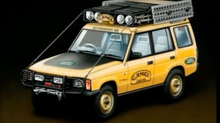 1992 Camel Trophy Land Rover Discovery & Defender Manufacturing Process - Land Rover Factory
