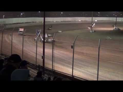 Tucson International Raceway ASCS Wing Sprint Cars 04-06-2013