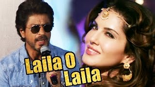 Download Shahrukh Khan REACTS To 'Laila O Laila' Song In Raees 3Gp Mp4