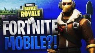 Mobile Noob Plays Fortnite