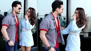 Watch Tiger Shroff Back 2 Back FUNNY Moments With Shraddha Kapoor During Baaghi 3 Promotion