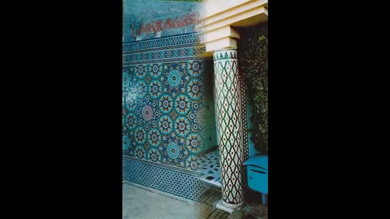 Salon marocain moderne avec de zellij baldi for Salon marocain moderne