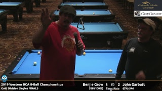 Day 5 - 2019 Western BCA 8-Ball Championships