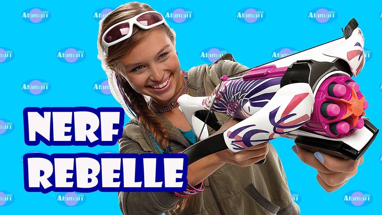 Nerf Boys Toys For Girls : Nerf rebelle guns for girls toy fair preview youtube
