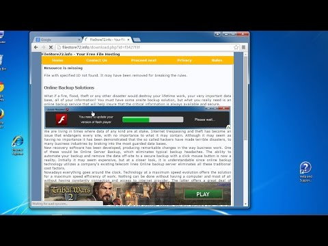 How to remove http://filestore72.info google redirect virus (Removal guide)