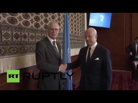 USA: UN Syria envoy attends crisis talks in Geneva