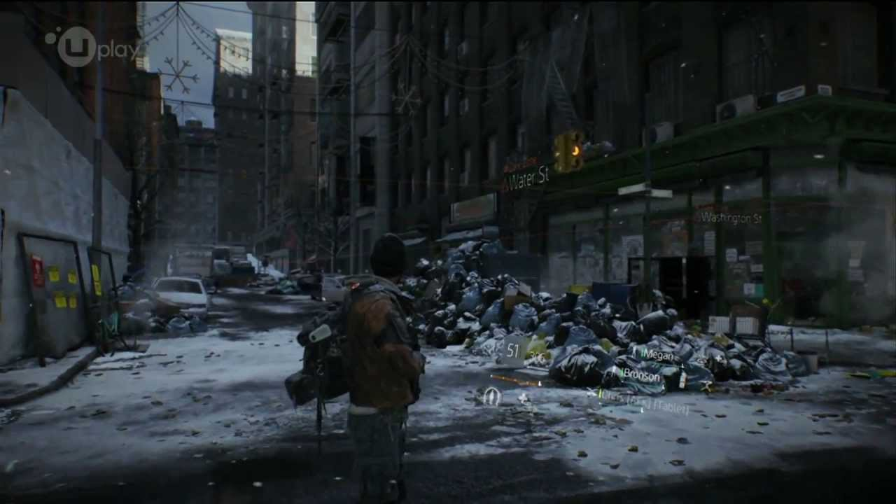 Tom Clancy Games For Ps4 : Tom clancy s the division amazing gameplay ps xbox