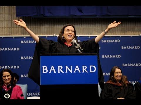 Sheryl Sandberg, Barnard College Commencement 2011