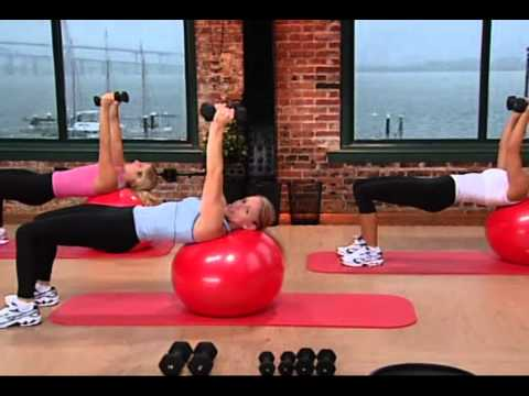 Tracie Long Training Fitness Collection   Core 49 Min Fitness Fitball