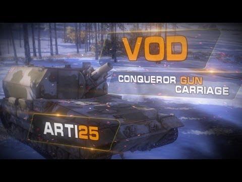 New! VOD Conqueror Gun Carriage от Arti25