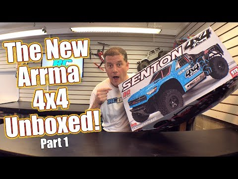 Affordable Waterproof 4WD Short Course Basher! - ARRMA Senton 4x4 Unboxing   RC Driver