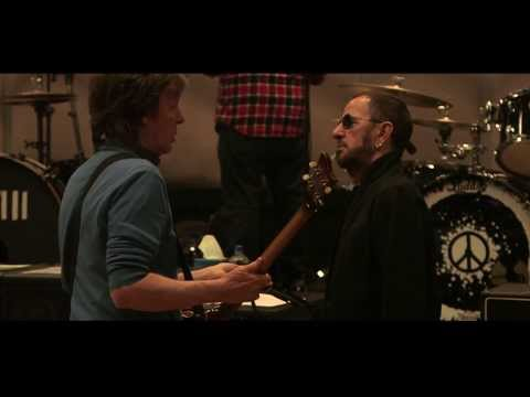 Paul McCartney and Ringo Starr Rehearsing  Queenie Eye