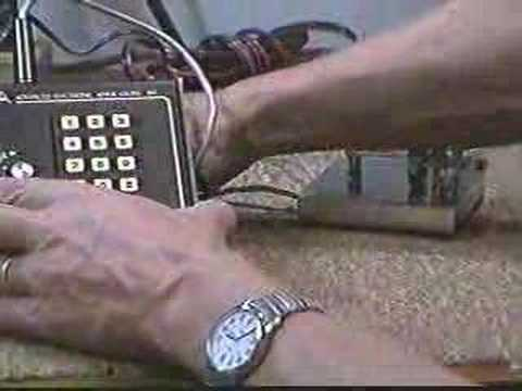AEA KT-2 Ham Radio Morse Code Keyer Trainer Demonstration