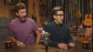 Rhett and Link get scared