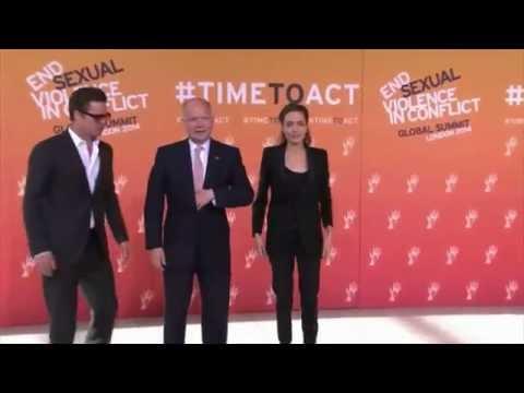 Brad Pitt appuie la campagne d'Angelina Jolie contre le viol