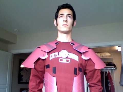 Iron Man Costume: built out of paper.