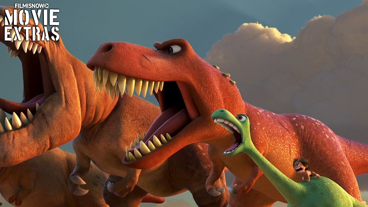 The Good Dinosaur Blu-Ray/DVD (2016) Featurette - Finding The Roar
