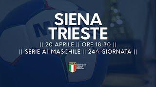Serie A1M [24^]: Siena - Trieste 25-25
