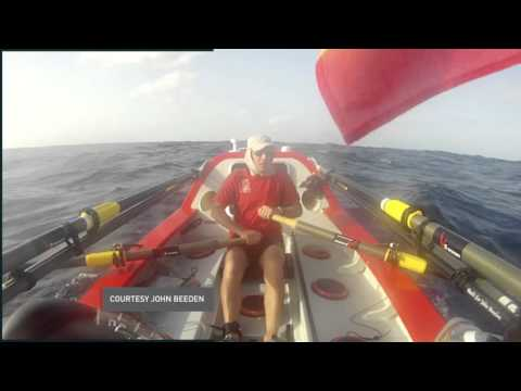Solo rower completes voyage from North America to Australia