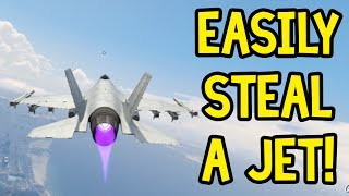 GTA Online - How to Steal A Jet! (GTA 5)