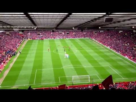 He scores goals Scholes - Manchester United Vs Swansea