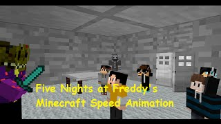 "FNAF - ""The Truth!"" A Minecraft Speed Animation"