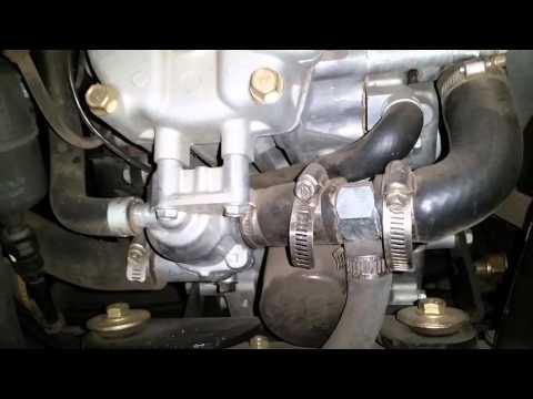 John deere x585 heater install