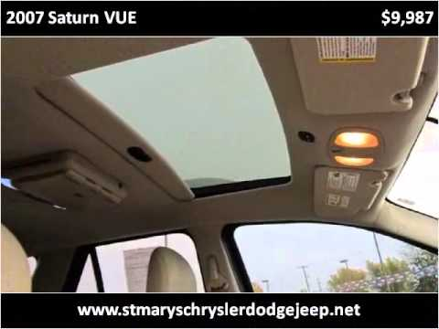 2007 Saturn VUE Used Cars Saint Marys OH