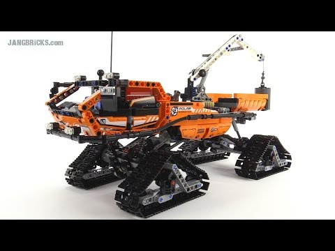 LEGO Technic 2015 Arctic Truck review! set 42038