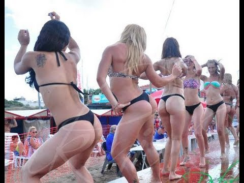 Must See Argentina Thong Contest