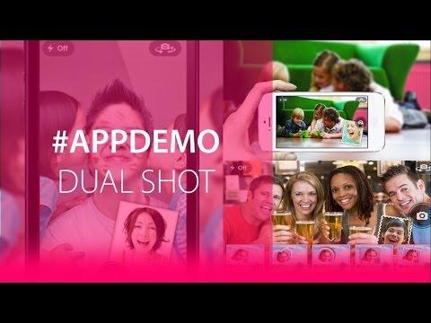 #AppDemo: Dual Shot - Captura imágenes con la cámara trasera y delantera al mismo tiempo