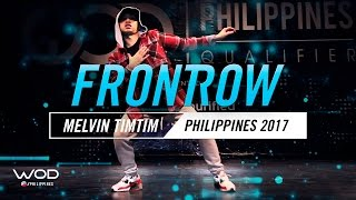Melvin Timtim | FrontRow | World of Dance Philippines Qualifier 2017 | #WODPH17