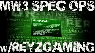 MW3 Spec Ops Survival w/@ReyzGaming Funny Moments